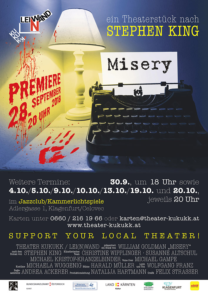 misery plakat web